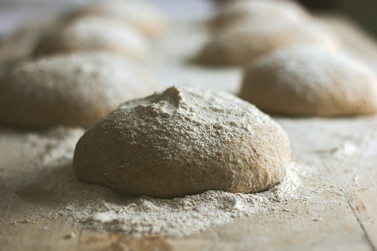 From Scratch, No-Knead Pizza Dough
