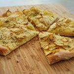 Potato Rosemary & Garlic Pizza