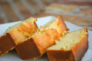 Grapefruit Breakfast Loaf Cake