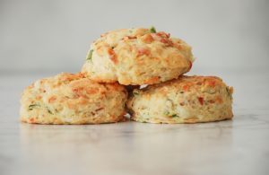 Pancetta Gruyere and Scallion Biscuits