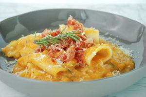 Creamy Butternut Squash and Brown Butter Pasta