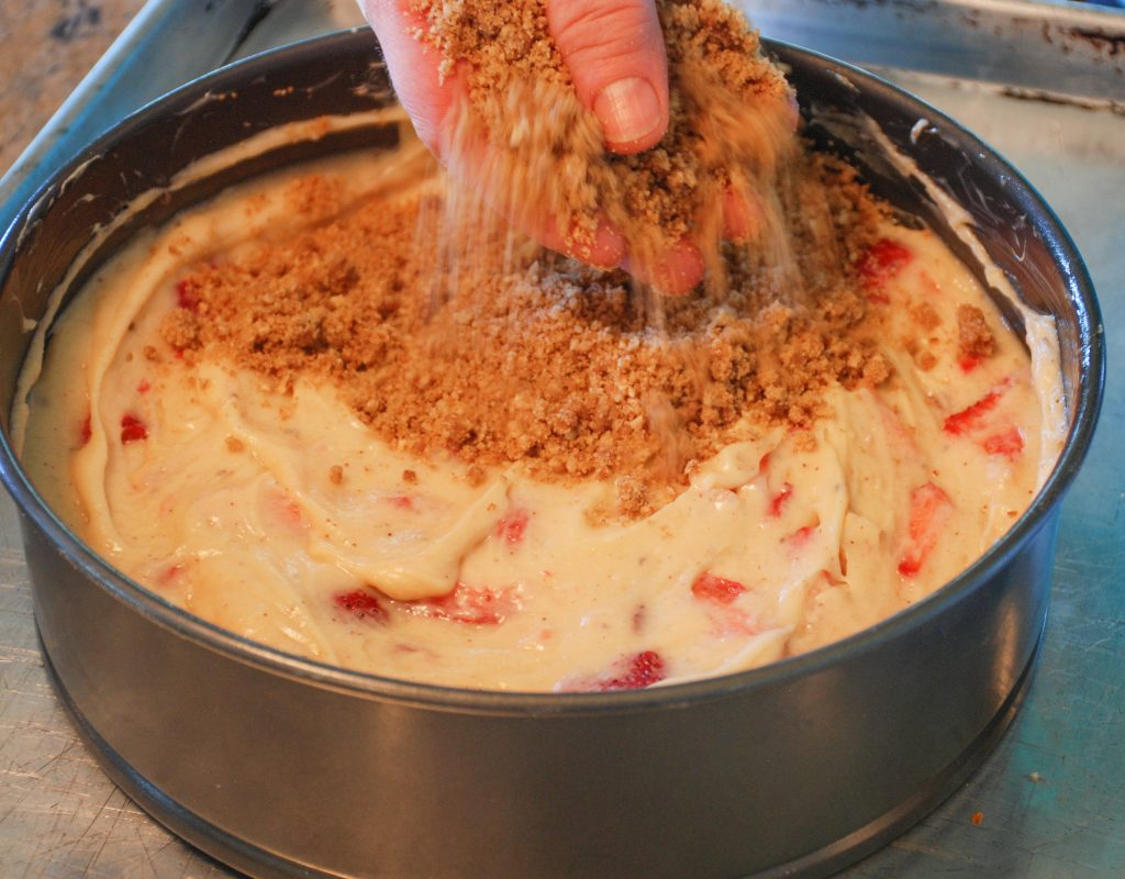 Topping with Streusel
