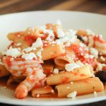 Greek Style Shrimp with Rigatoni
