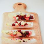Roasted Beet, Pear & Stilton Endive Boats