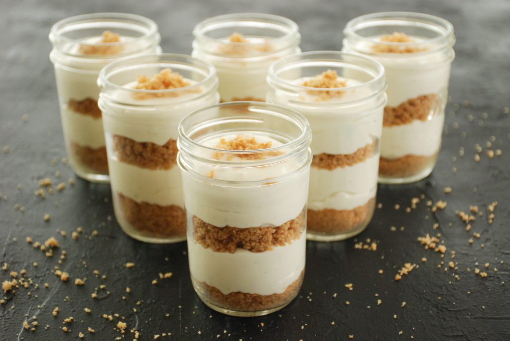 No-Bake Key Lime Parfaits
