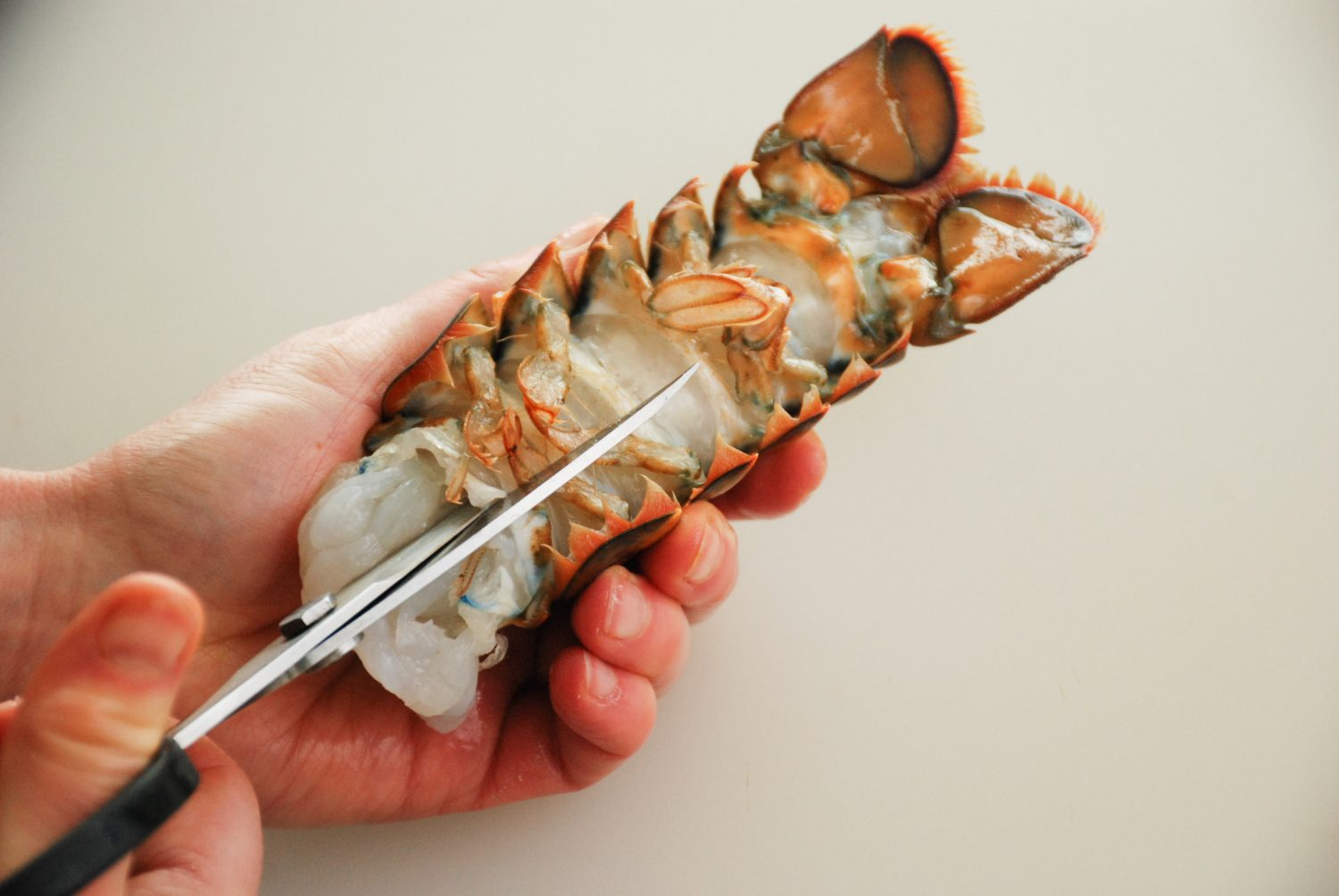 Prep lobster tail