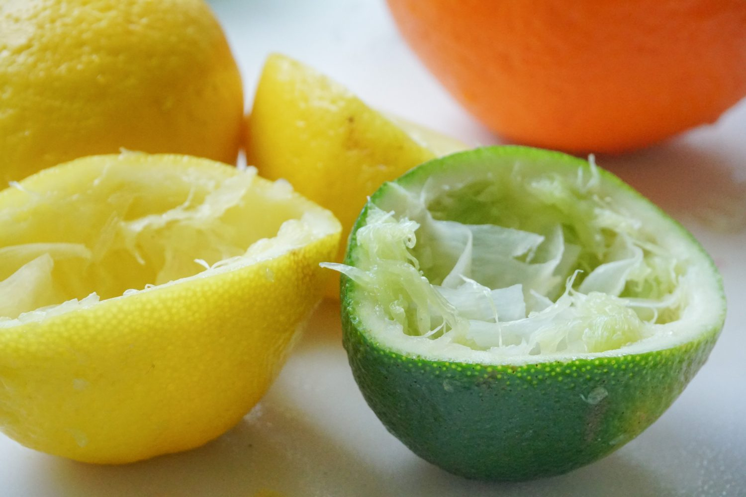 Reamed citrus