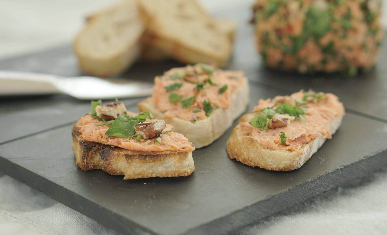 Granny's Salmon Spread & Other Easter Treats