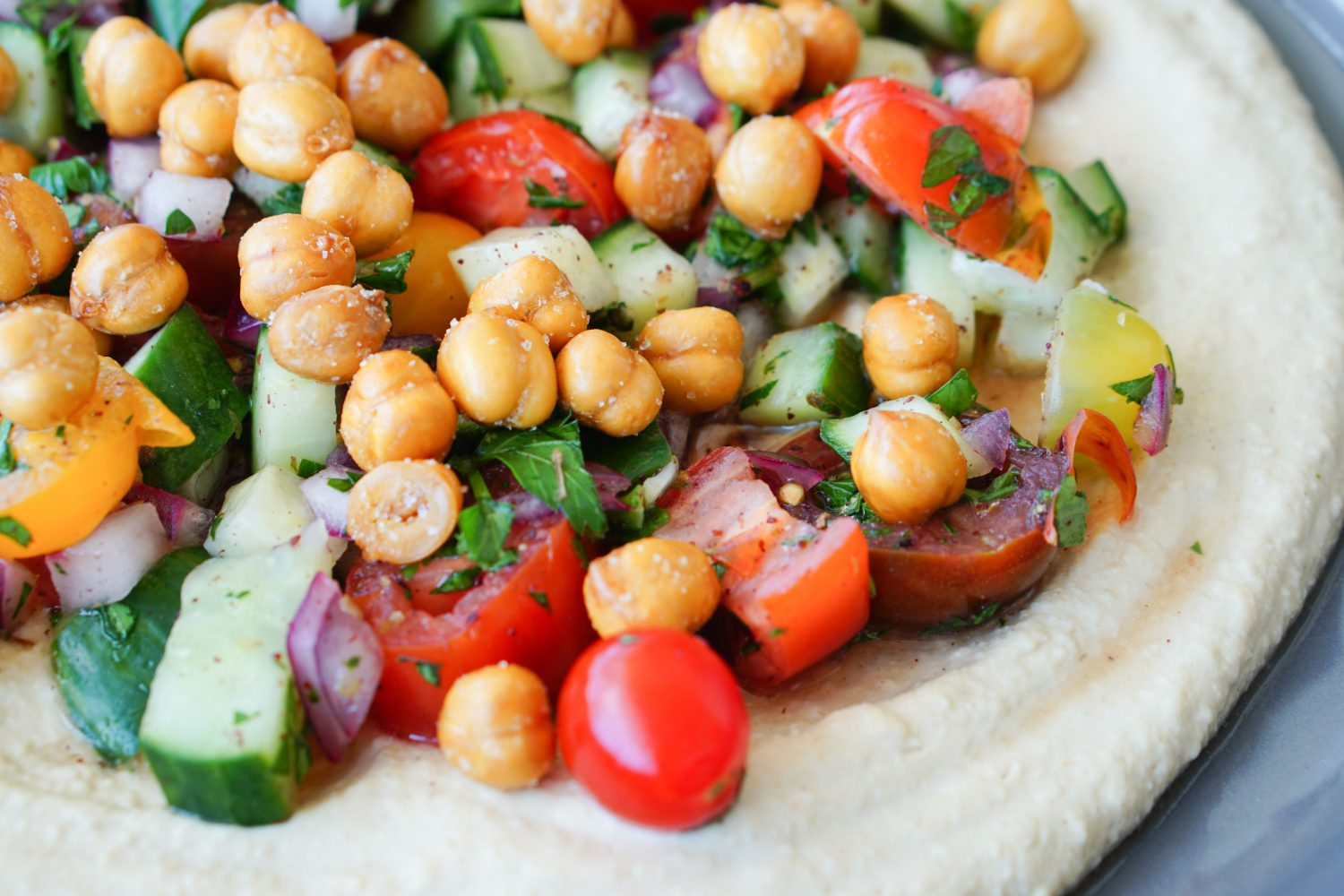 Gussied Up Hummus