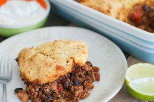 Tamale Pie Plated