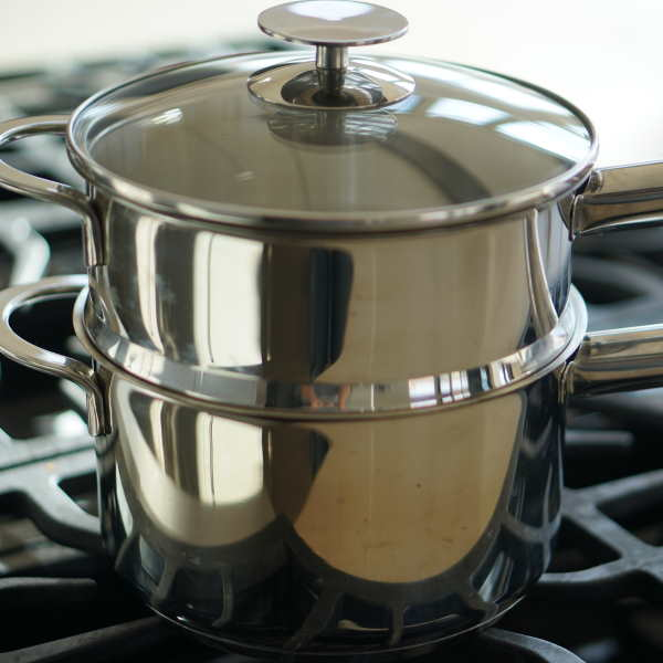 🎬 Using a Double-Boiler