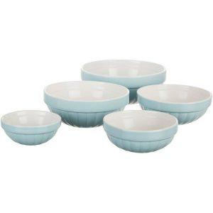Key Lime Lexi 5 Piece Pinch Bowl Set