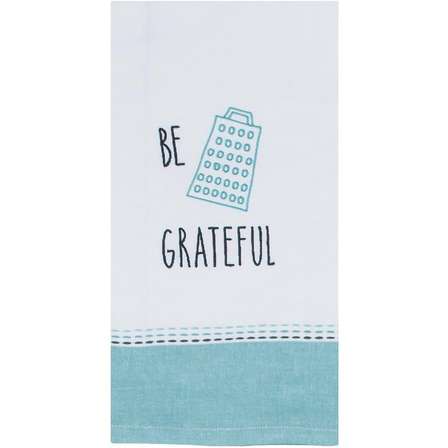 Key Lime Lexi Be Grateful Tea Towel