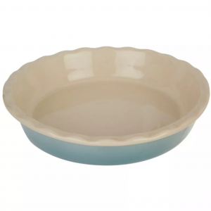 Key Lime Lexi Ombre Collection Blue Pie Dish