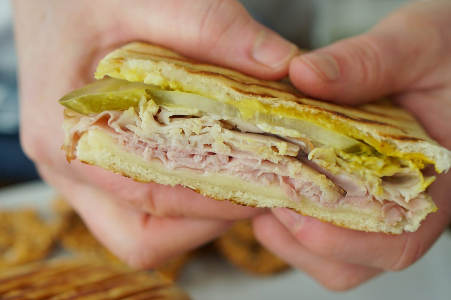 Grilled Cubano
